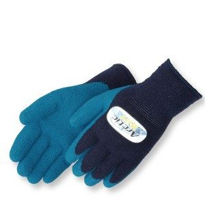 Liberty Gloves 4789BL A-Grip Artic Tuff Blue Latex Coated Glove, with Heavy Thermal Lining, Dozen