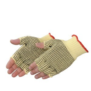 Liberty Gloves 4815FL Fingerless Cut Resistant Gloves with 2 Sided PVC Dots, Dozen