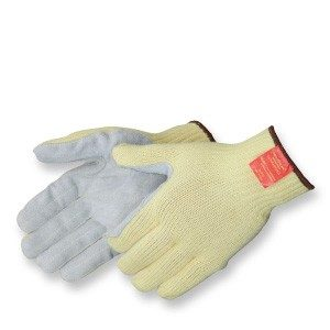 Liberty Gloves 4883 100% 7 Gauge Kevlar Knit Sewn with Leather Palm, Dozen