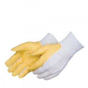 Liberty Gloves 5343 Canvas with Vinyl Impregnated Palm with Knit Wrist