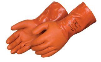 Liberty Gloves 620 Atlas Premium Orange PVC Coated With 12
