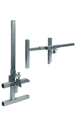 Falltech 6402ADJ Portable Guardrail Clamp Base Edge/Wall