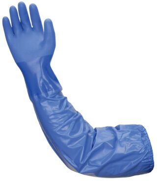 Liberty Gloves 690 Atlas Blue PVC Glove With A 26