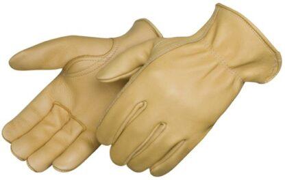 6918 Golden Deerskin Drivers Gloves With Keystone Thumb, Pair