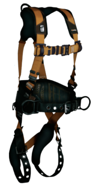 FALLTECH 7081B Construction Belted Harness