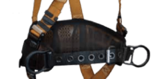 FALLTECH 7081BFD Construction Belted Harness