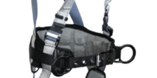 FallTech 7088BFD FlowTech LTE Construction Climbing Full Body Harness