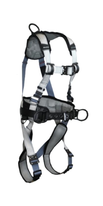FallTech 7089BFD FlowTech LTE Construction Climbing Full Body Harness