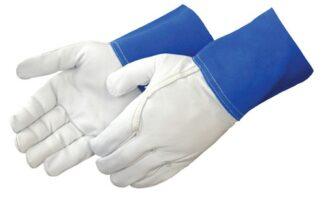 Liberty Gloves 7814 Gunn Pattern Goatskin TIG Welding Glove, Dozen