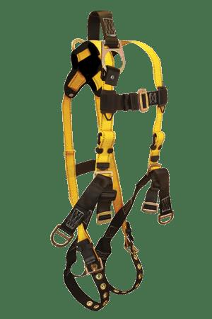 FallTech 8007 Roughneck 6-D Derrick Full Body Harness, Non-belted