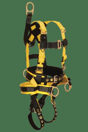 FallTech 8021 RoughNeck Derrick 4-D Full Body Harness with Belt