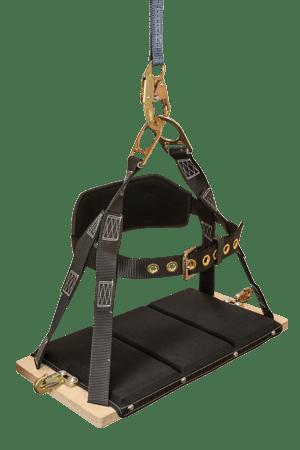 FallTech 8039 RoughNeck Premium Bosun Cushioned Seat Board with Belt