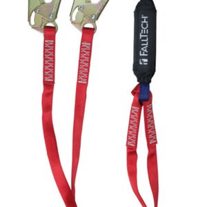 FallTech 8247BY3 Ironman Static Length Lanyard