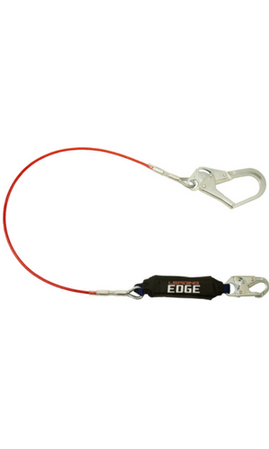 FallTech 8354LE3 Leading Edge Steel Cable with Snap/Rebar