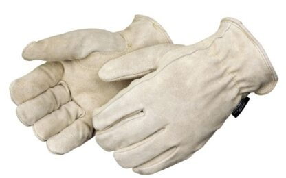 8544 Tan Split Cowhide Drivers Glove With 3M Thinsulate Lining
