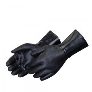 Liberty Gloves 9534 Rough Finish Black Neoprene 14in Gauntlet Glove, Dozen
