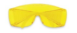 MCR 9814 Yukon Amber Lens Safety Glasses