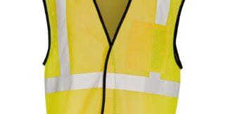ML Kishigo B125 Enhanced Visibility Yellow Mesh Vest