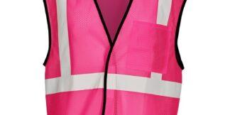 ML Kishigo B126 Enhanced Visibility Pink Mesh Vest