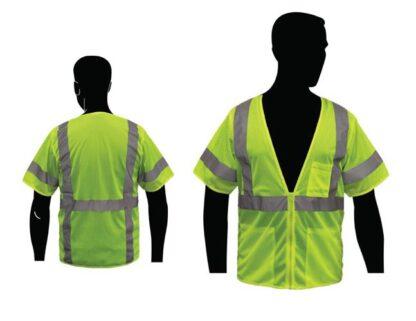 C16004G Economy Lime ANSI Class 3 Vest