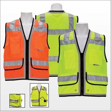 3A C2100/C2101 Class 2 FR Heavy Duty Surveyors Vest