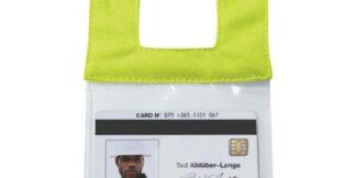 ML Kishigo RTCIDL Lime Retractable Clear ID Pocket