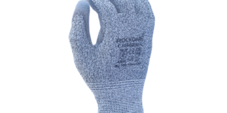 Task CM46230 13 Gauge HDPE, Gray PU Coated Cut Level A4 Glove, Dozen