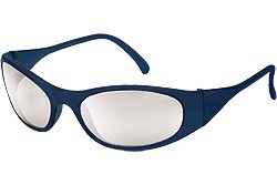 F2129 Frostbite2® frost blue frame, indoor / outdoor clear mirror lens