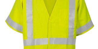 ML Kishigo F498 Class 3 FR Lime Economy Vest