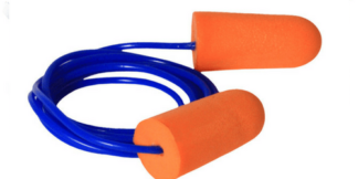 Radians FP71 Resistor Disposable Foam Earplugs Corded, NRR32