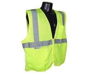 HiVizGard FR16002G Class 2 FR Lime Mesh Vest