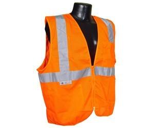 HiVizGard FR16002F Class 2 FR Orange Mesh Vest
