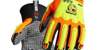 Black Stallion GW2226-OB ToolHandz MAX High Cut-Resistant Winter Mechanics Glove, Pair