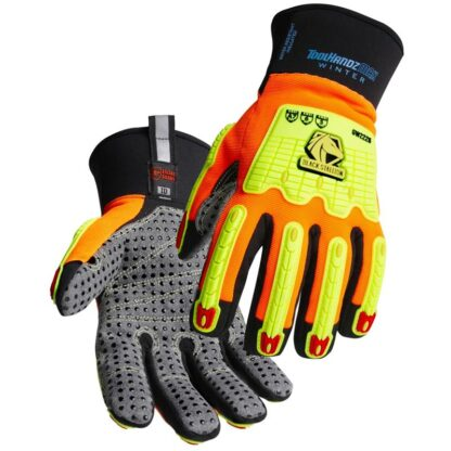 Black Stallion GW2226-OB ToolHandz MAX High Cut-Resistant Winter Mechanics Glove, Pair