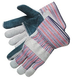 Liberty Gloves 3581 Premium Jointed Double Leather Palm Gloves, Dozen