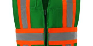 IC110GR GREEN CONTRAST INCIDENT COMMAND VEST