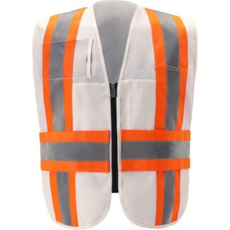 IC110WT OFF WHITE CONTRAST INCIDENT COMMAND VEST