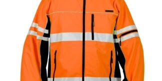 ML Kishigo JS138 Premium Black Series Orange Soft Shell Jacket
