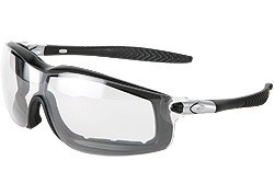 RT110AF Rattler Black Frame Clear Anti-Fog Lens