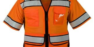 ML Kishigo S5015 High Performance Surveyors Orange Vest