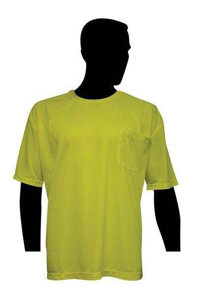 High Visibility Fluorescent Green T-Shirt