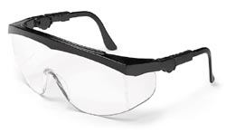 MCR TK110 Tomahawk Clear Lens Safety Glasses
