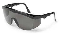 MCR TK112AF Tomahawk Gray Lens Safety Glasses