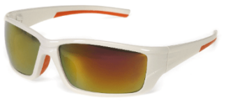 INOX WT1720RM/AF Eclipse Red Mirror Lens With White Frame