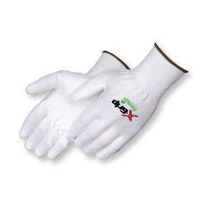 Liberty Gloves A4940 X-Grip White Polyurethane Palm Coated Glove, Dozen