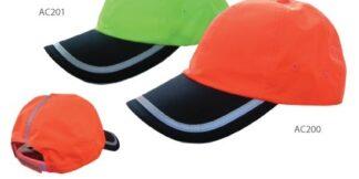 3A Safety Hi-Viz Ball Cap