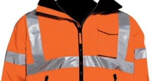 C16722F Class 3 Orange Bomber Jacket