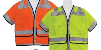 C3400 Class 2 Orange Heavy Duty FR Safety Vest