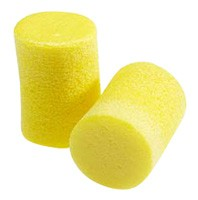 3M Classic  P/Pack Roll-down foam earplugs 200ct NRR 29dB