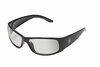 Smith & Wesson Elite Safety Glasses with Black Frame and Indoor-Outdoor Lens